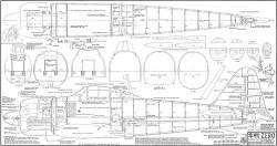 Mitsubishi A6M Zero model airplane plan