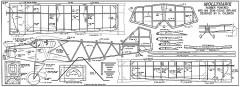 Mollyhawk Aeromodeller model airplane plan