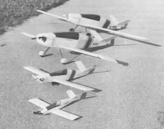 Monnet Moni model airplane plan