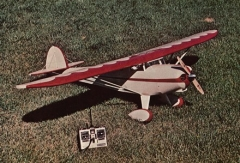 Monocoupe 90AL model airplane plan