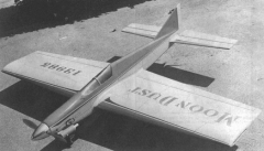Moon Dust model airplane plan