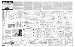 Mooney Mite Jetco 45in model airplane plan
