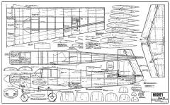 Mooney Mk21 AAM model airplane plan
