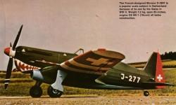 Morane D-3801 model airplane plan