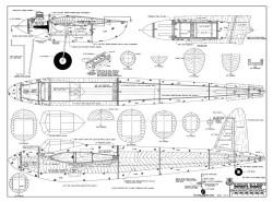 Mosquito IV model airplane plan