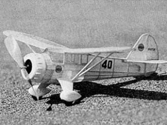 Mr Mulligan model airplane plan