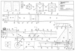 Mufti Robbe RC model airplane plan