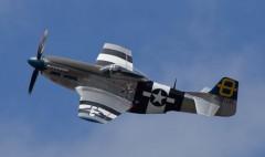 Mustang P-51D model airplane plan