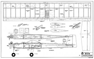 Mystik RCM-1120 model airplane plan