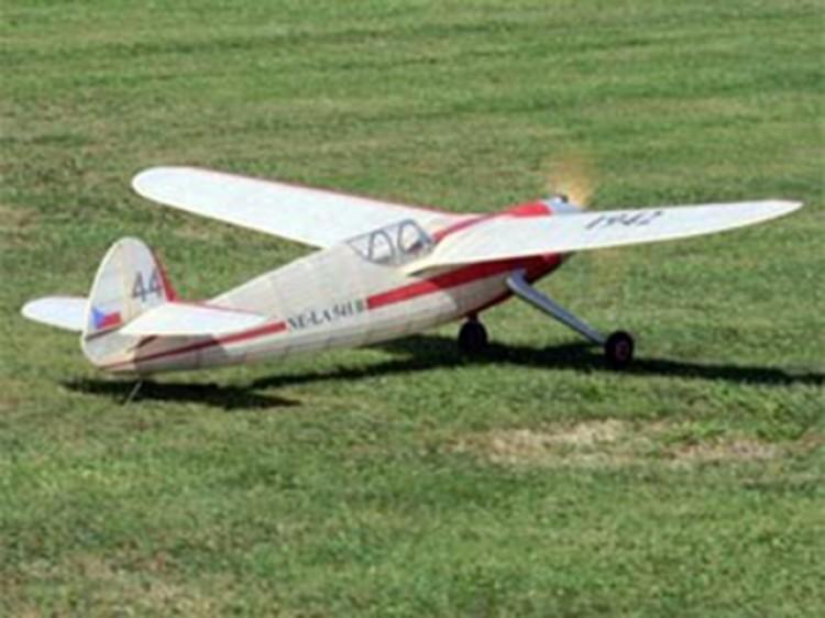 NE-LA 541 B model airplane plan