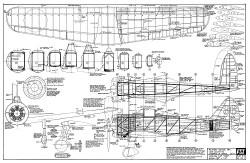 Nakajima Ki27 Nate FSI model airplane plan