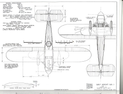 Navy Wright NW-1 model airplane plan