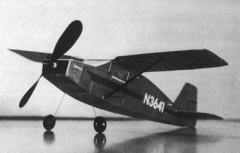Nesmith Couger model airplane plan