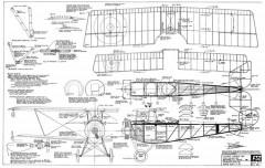 Nieuport 10AR/12 model airplane plan