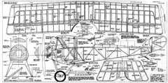 Nieuport 12 model airplane plan