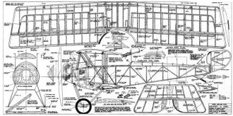 Nieuport 12 model airplane plan