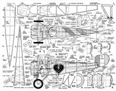 Nieuport 24 bis model airplane plan