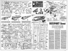 Nieuport Scout Cal Smith model airplane plan