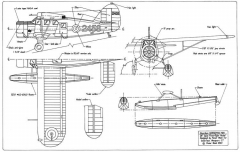 Noorduyn Norseman 28in model airplane plan