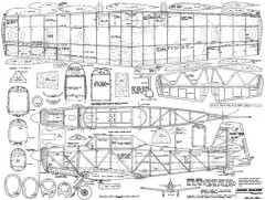 Nord 3202 model airplane plan
