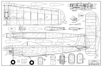 Norseman III 60 model airplane plan