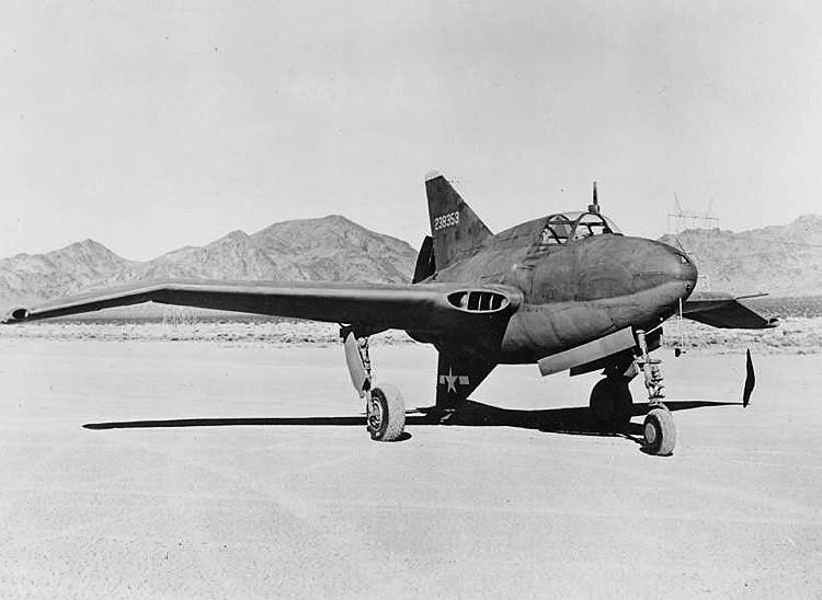 Northrop xp-56 model airplane plan