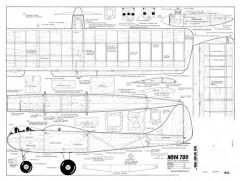 Nova Too model airplane plan