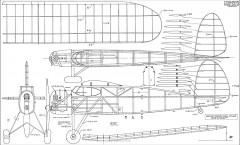 Ohlsson Speedmark 60in model airplane plan