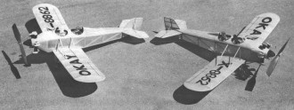 Okay Airplane 1929 model airplane plan