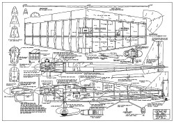 Ole Tiger RC model airplane plan