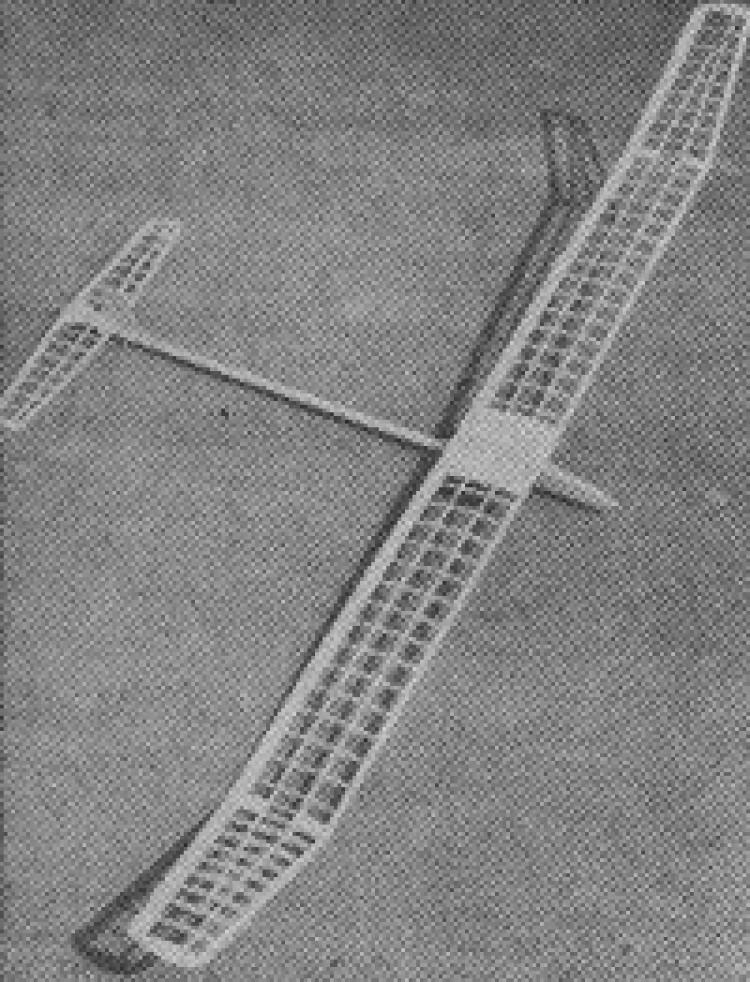 Orion II model airplane plan