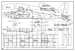 Orlik 2 model airplane plan