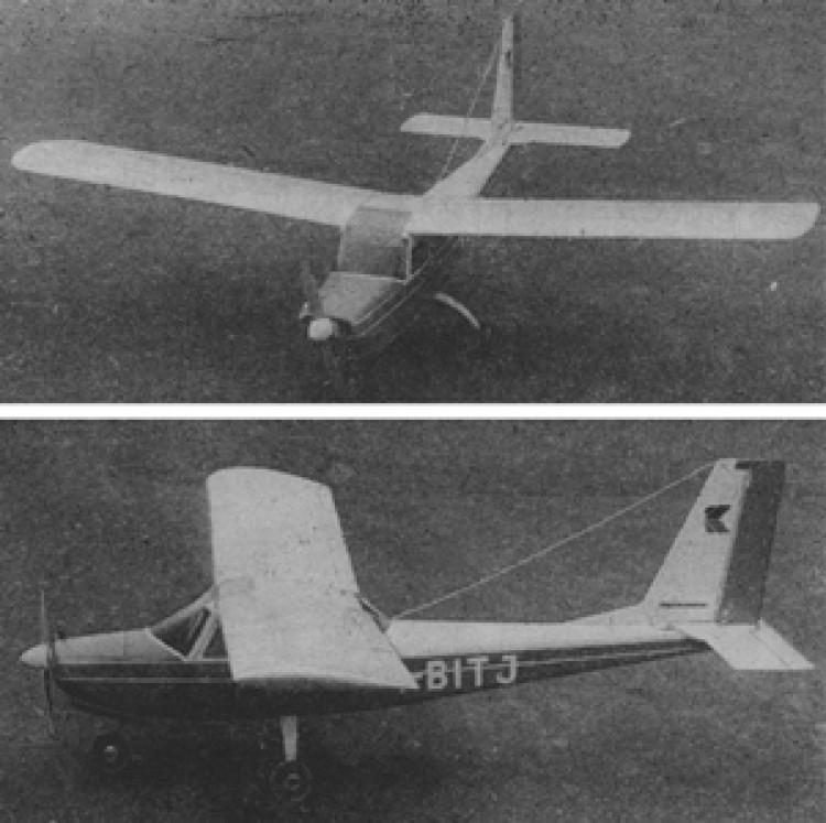 Oscar model airplane plan