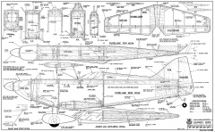 Osprey Bipe model airplane plan