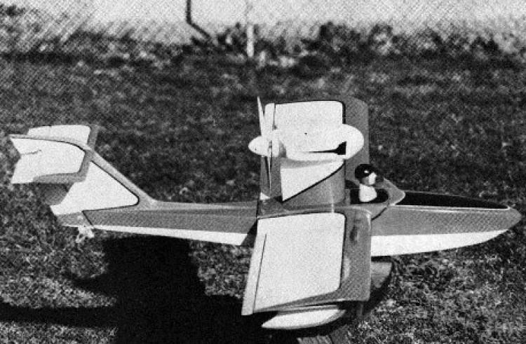 Osprey model airplane plan