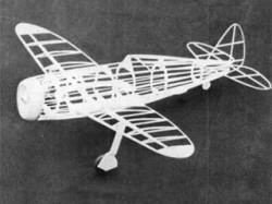P-47D Thunderbolt model airplane plan