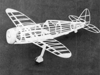 P-47D Thunderbolt model airplane plan