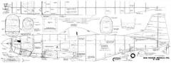 P-51D Bud Nosen 102in model airplane plan
