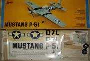 P-51 D Mustang model airplane plan