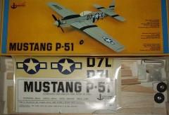 P-51 D Mustang model airplane plan