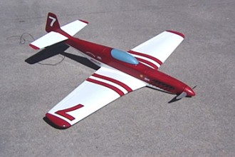 Mega P51 racer model airplane plan
