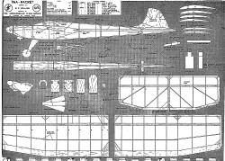 PAA Packet model airplane plan