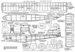 PB-1 Twin Plan Cleaned model airplane plan