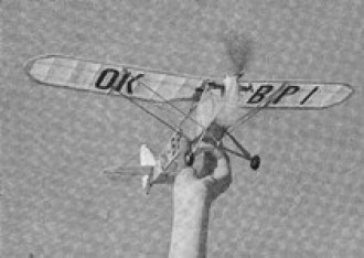 PB-6 Racek model airplane plan
