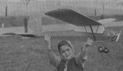PB-6 Racek model airplane plan