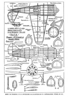 Polikarpov I-16 model airplane plan