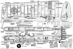PT-19 Stunter model airplane plan