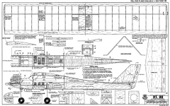 PT-20 48in RCM-947 model airplane plan