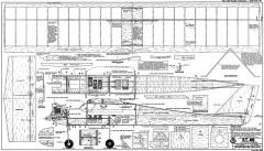 PT-40 60in RCM-948 model airplane plan