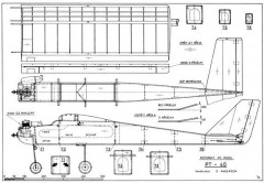PT 40 model airplane plan